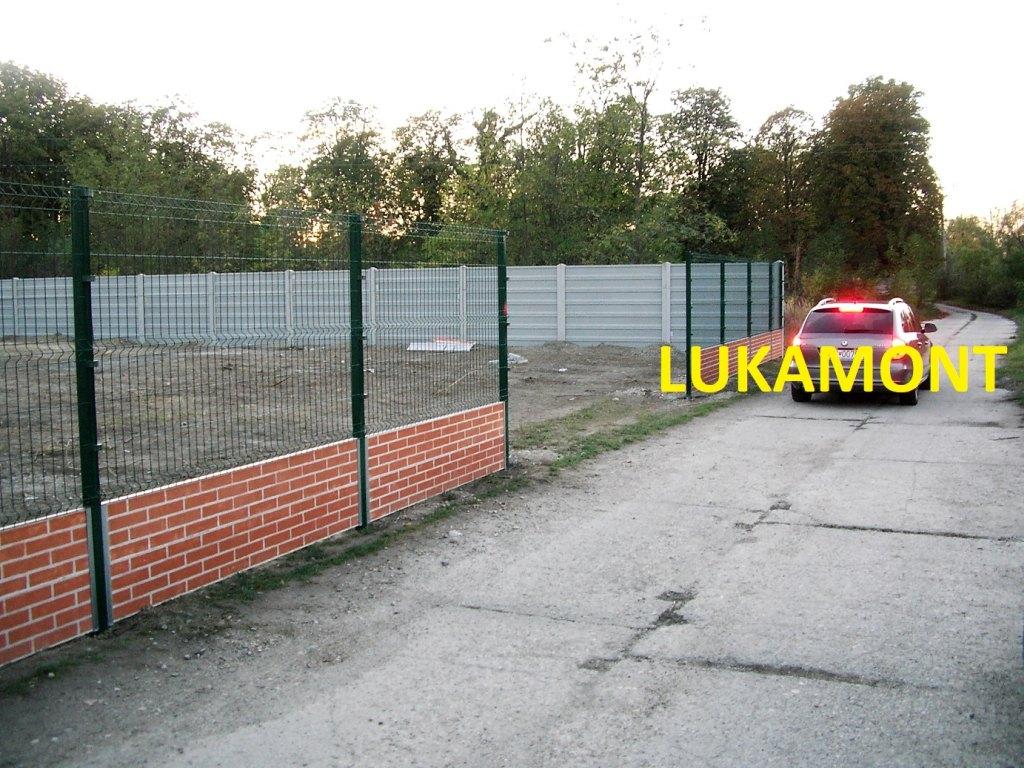 Kvalitná betónová ohrada LUKABETON